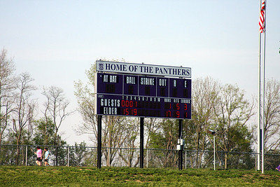 2010 Varsity Baseball vs. Purcell-Marian
