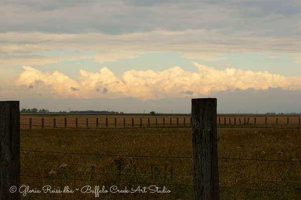 The Fence and the Clouds
