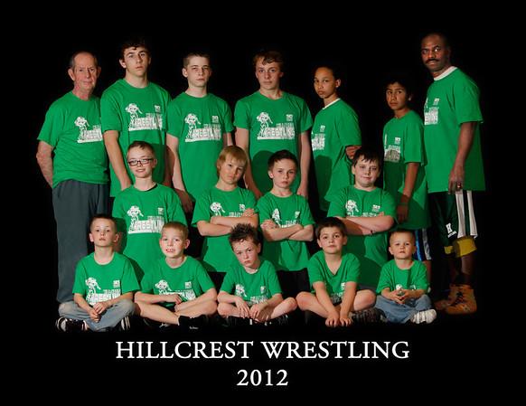 Hillcrest Little League Wrestling 2012