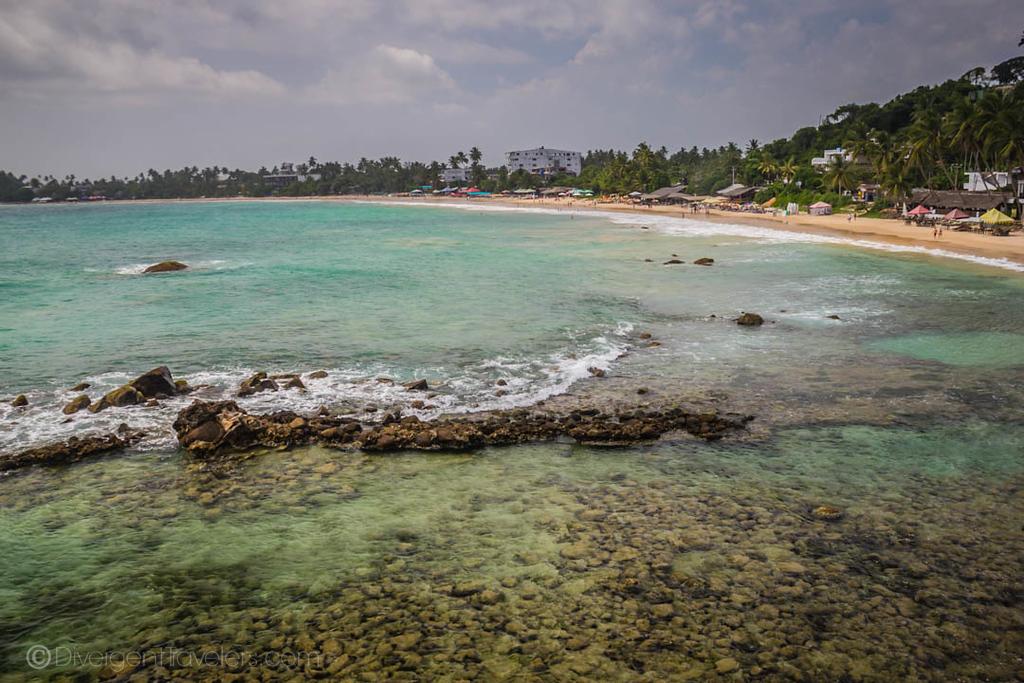 south coast Sri Lanka beaches - Mirissa Beach - Lina Stock