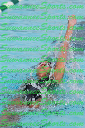 Suwannee High School Swimming 2012