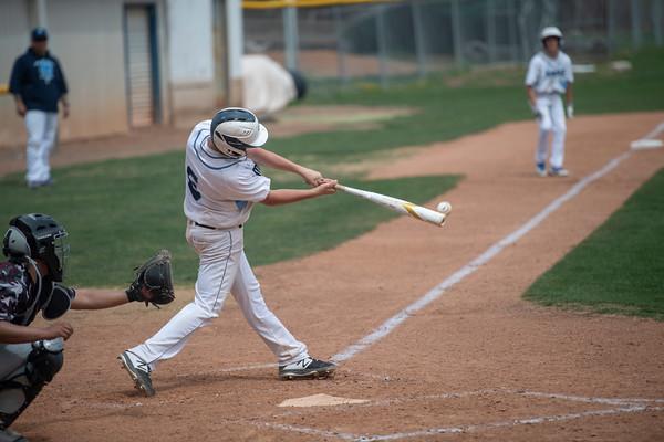 Miner Baseball W vs. Bruce Randolph 7-1 Apr 2019