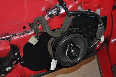 1993 Mazda RX7 Front Door Speaker Installation - USA