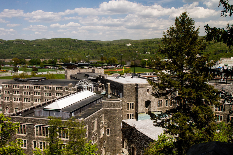 View of West Point from on high