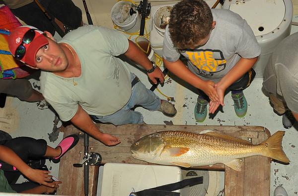 Ospo - Matt and Redfish 07-31-14