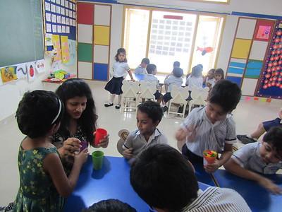 Parental Involvement in School Activity - Tiggers on 26.2.20