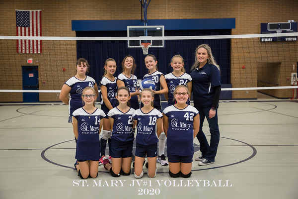 St. Mary Volleyball JV1 2020