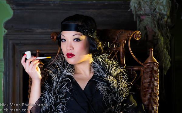 Pipe smoking ladies