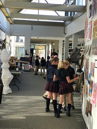 3rd Grade - Arts Center Gallery - US Exhibit