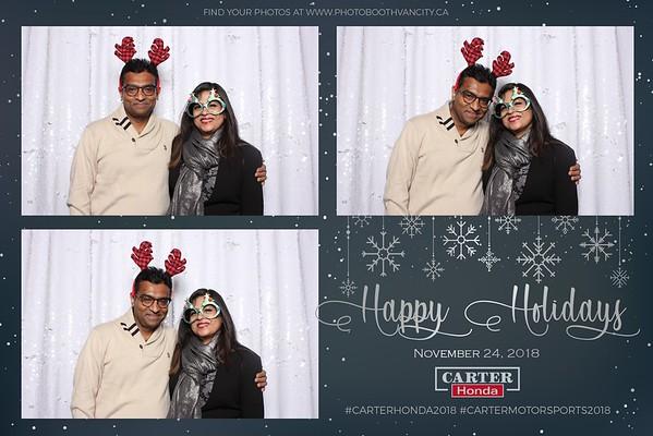 Carter Honda's Holiday Party 2018