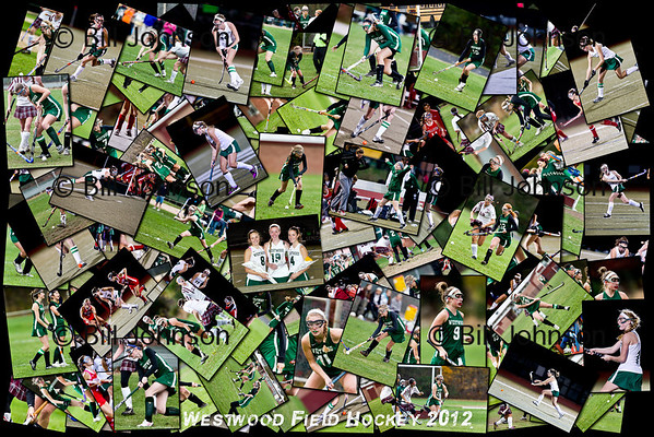 Westwood Field Hockey Collages 2012