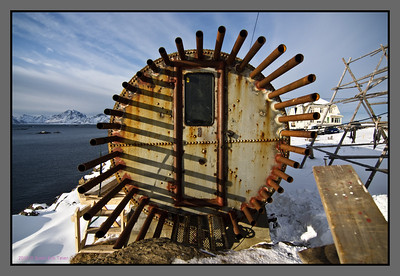 The Tank - art project in Nyksund