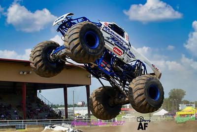 Soggy Bottom Boys Monster Truck Show  07/04/2017 Day 2