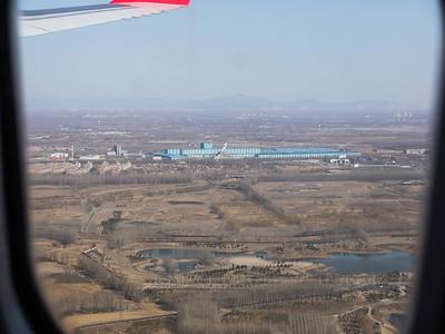 Landing in beijing