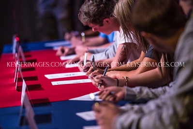 2017 Chaparral Spring College Signing Day