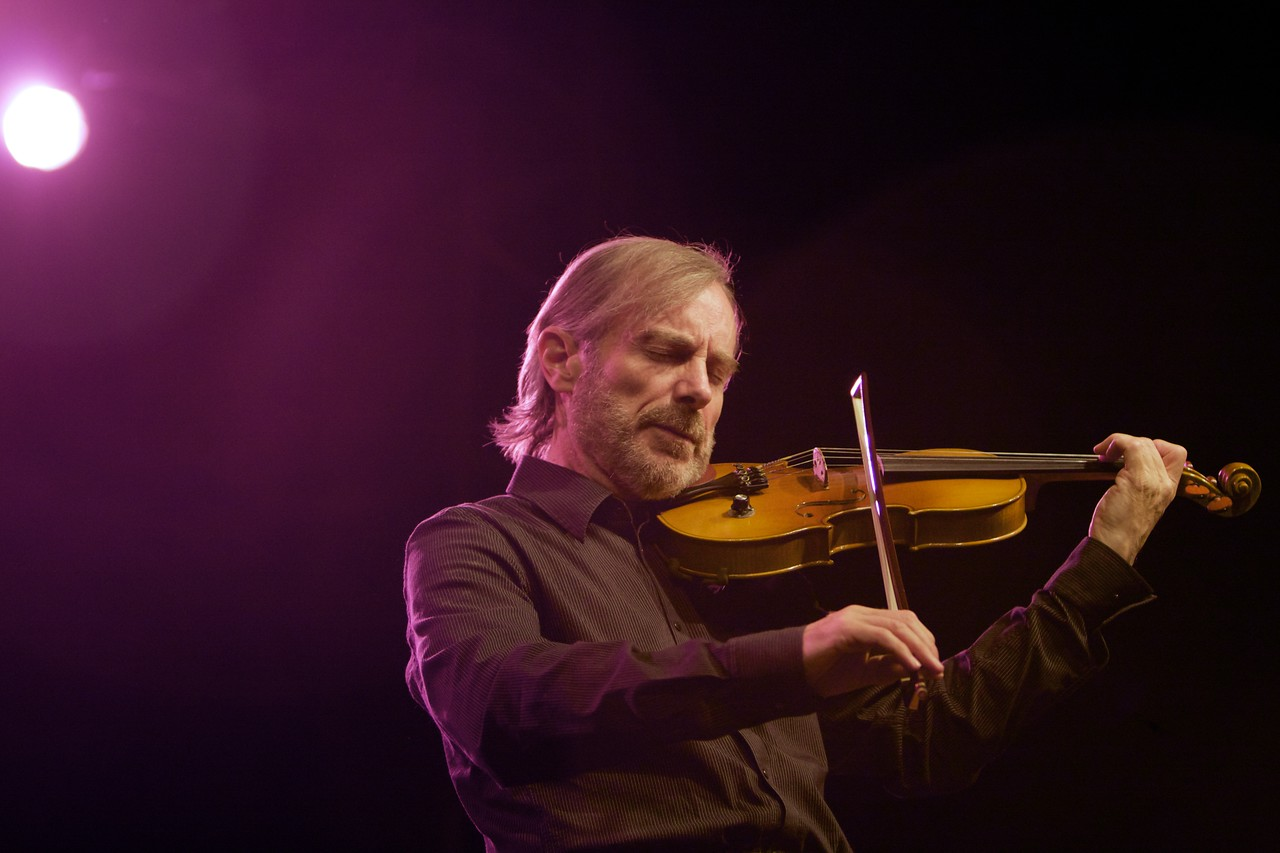 Jean-Luc Ponty at the Nice Jazz Festival 2008