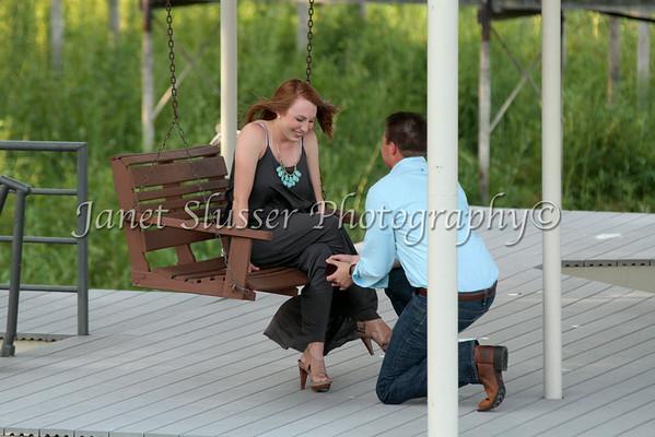 Kristen & Clay - Surprise Proposal 7-30-14
