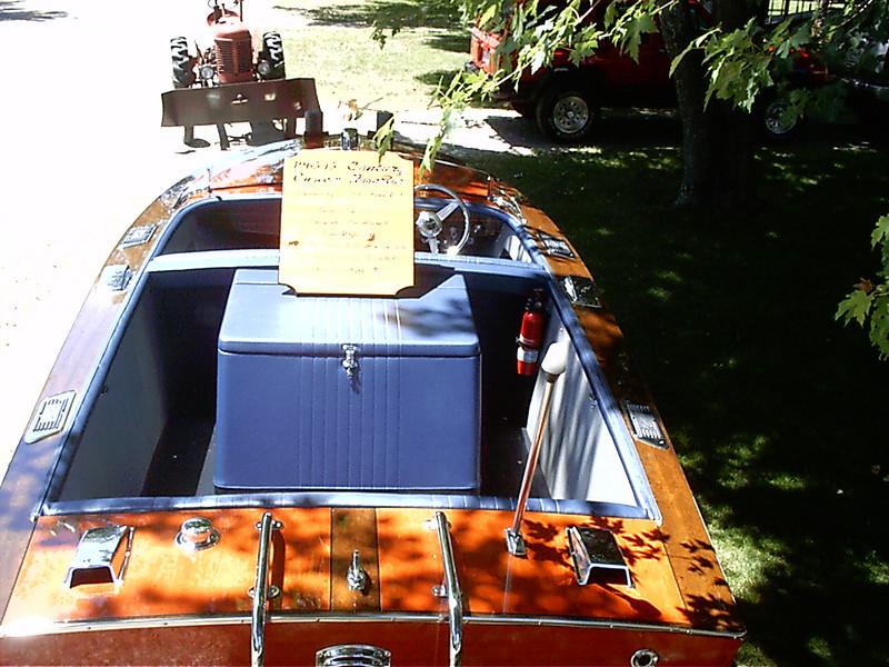 Rear deck view.
