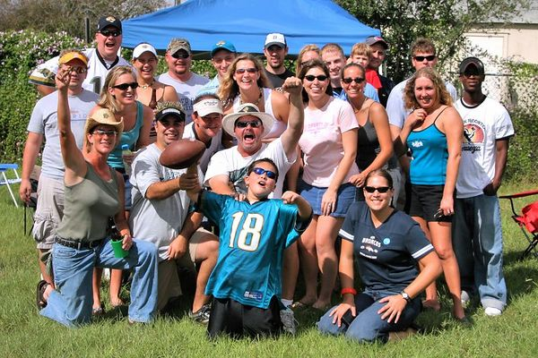 Jaguars vs. Broncos, Oct 2, 2005:  Tailgaters