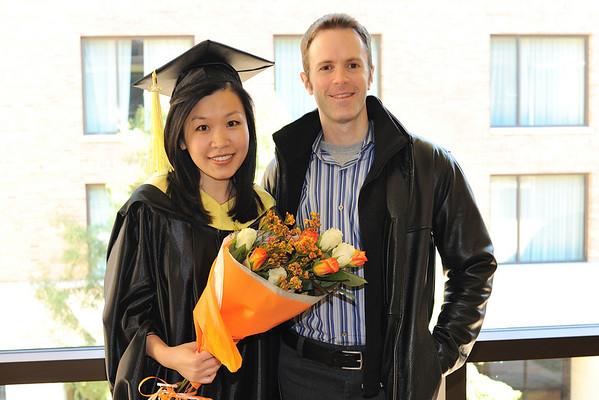 Lauren's School of Information Graduation