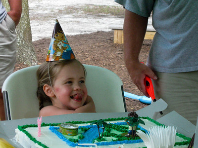 kensleigh's 4th birthday