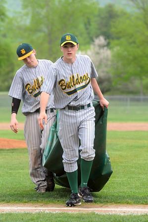 2011 BBA Varsity Baseball vs MSJ photos by Gary Baker