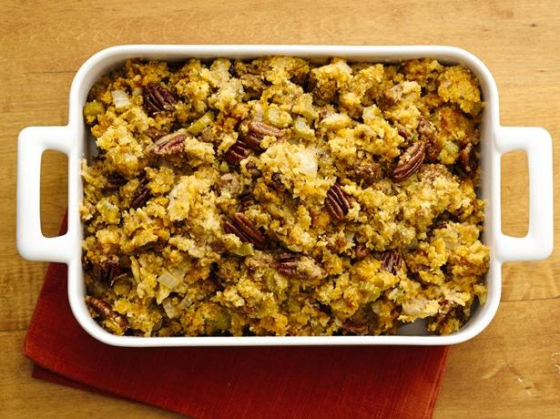 Description of . Slow Cooker Chorizo, Pecan and Cheddar Stuffing Betty Crocker