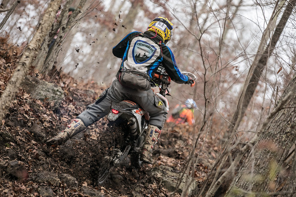 Black and Blue Enduro
