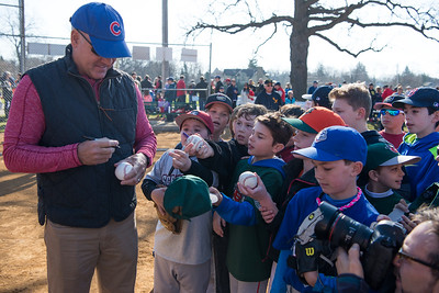 Lake Bluff Baseball with Ryne Sandberg