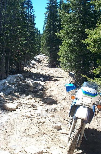 Rough road, Silver Creek Trails
