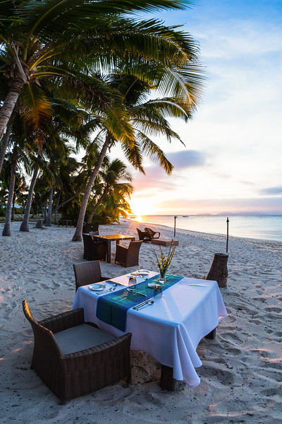 Sunset Dinner - Vomo - Fiji Islands