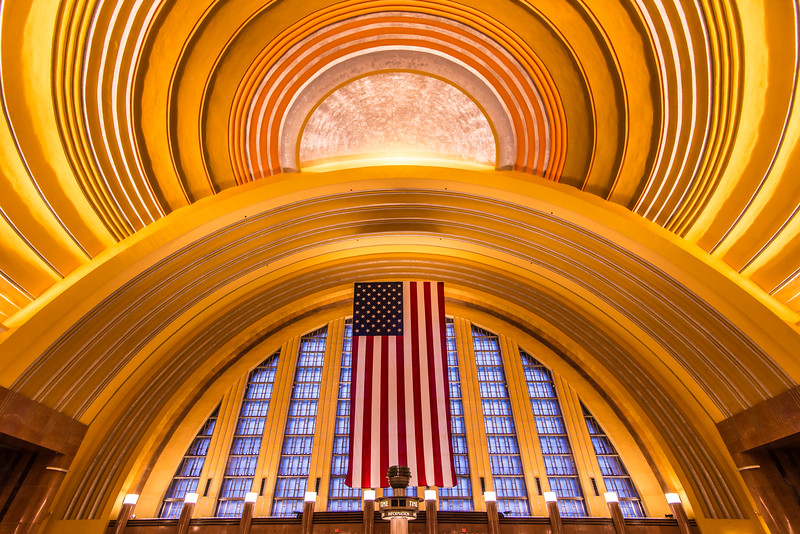Historic Cincinnati Union Terminal Train Station
