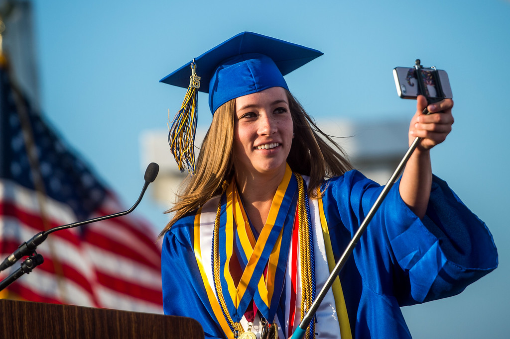 . California High School Class of 2015 commencement ceremony at the Whittier campus on Wednesday, June 3, 2015. (Photo by Watchara Phomicinda/ Whittier Daily News