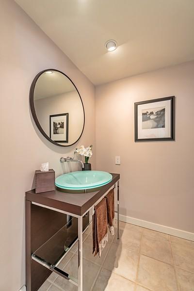 Half Bath off Living Room