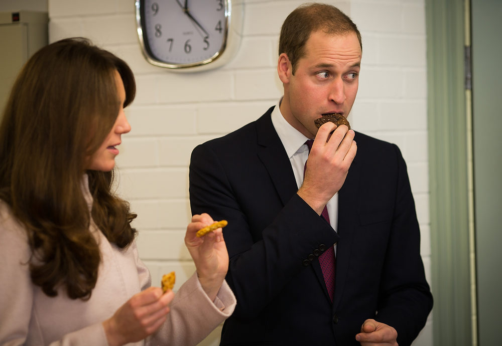 . Catherine, Duchess of Cambridge and Prince William, Duke of Cambridge visit \'Jimmy\'s\', a night shelter, on November 28, 2012 in Cambridge, England.  (Photo by Paul Rogers - WPA Pool/Getty Images)