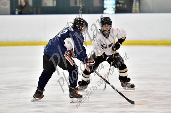 Muhlenberg/Daniel Boone/Conrad Weiser vs Berks Catholic Middle School Ice Hockey 2015 - 2016