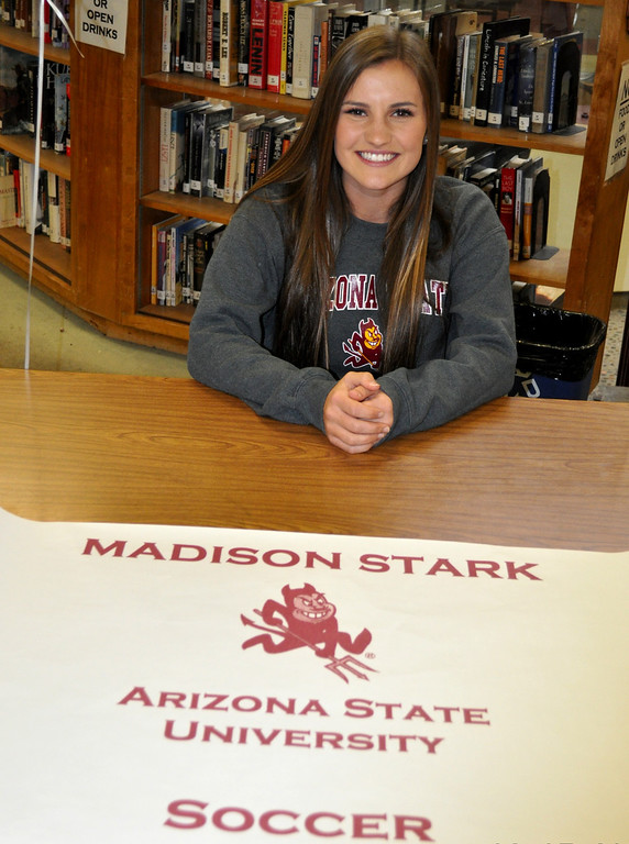 . Claremont soccer player Madison Stark signing with Arizona State (Courtesy Photo)