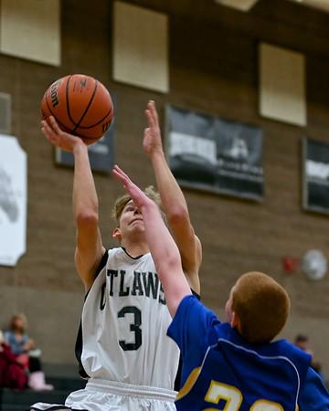 Outlaw JV Boys Basketball vs Bend 12-11-15