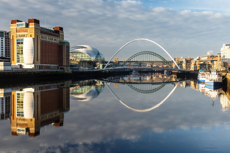 Gateshead riverside