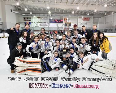 EPSHL Varsity Championship - Mifflin/Exeter/Hamburg vs Schuylkill Valley/Conrad Weiser/Garden Spot/Cocalico