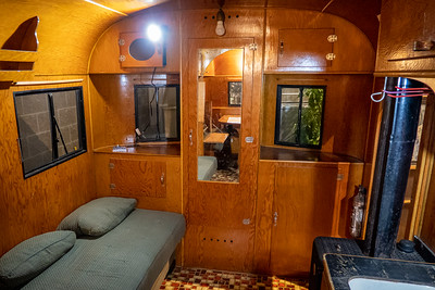 1939 Schult Nomad Trailer Interior
