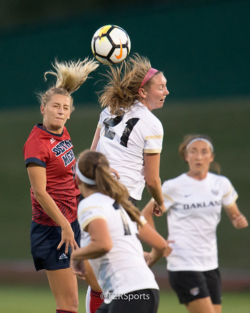 OU Women's Soccer vs. Detroit 9/27/2017