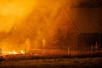 Ladugårdsbrand Hylte