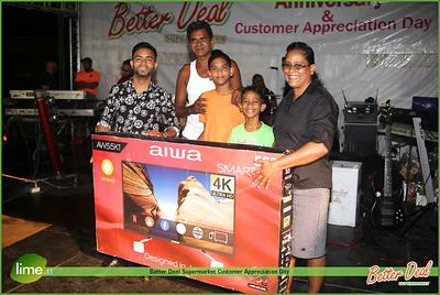 Better Deal Supermarket Customer Appreciation Day 2019