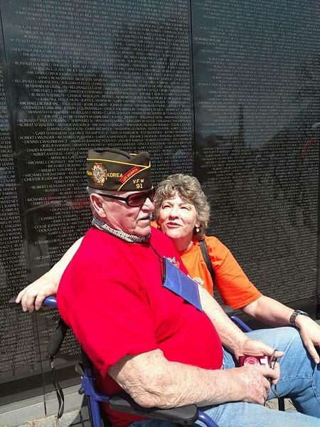 Korean, Lincoln, Vietnam Memorials April 2018
