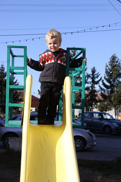 A little bit of play on the slide is always refreshing :)