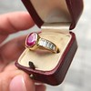 3.21ctw Burma N-Heat Ruby Ring, by Mellerio 23