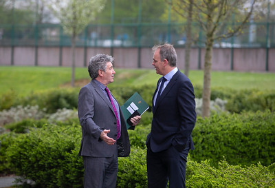 Minister McHugh's visit to WIT in April 2019