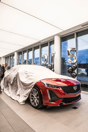 Roy Foss Cadillac CT5 Launch