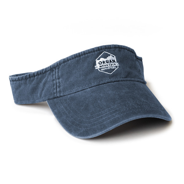 Organ Mountain Outfitters - Outdoor Apparel - Hat - Classic Visor - Vintage Navy.jpg